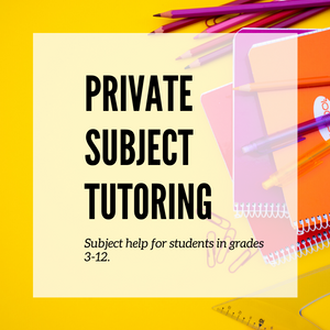 Subject Tutoring & Packages