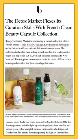 The Detox Market announces its French Curation which includes Kadalys