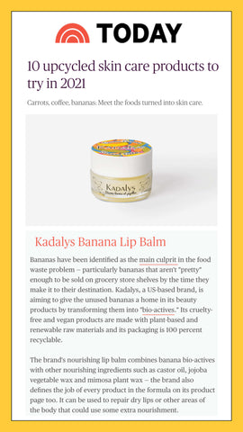 """Kadalys gives unused bananas a home in its beauty products by transforming them into """"bio-actives."""""""