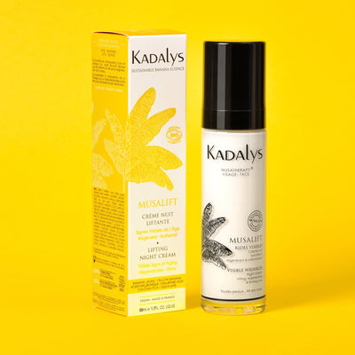 Musalift - Organic Lifting Night Cream - Firms, Stimulates, Regenerates by Kadalys