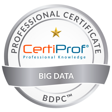 Big Data Professional Certificate - (BDPC)