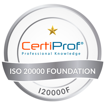 Certified ISO/IEC 20000 Foundation (I20000F)