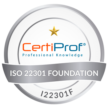 Certified ISO/IEC 22301 Foundation (I22301F)