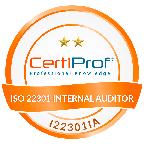ISO/IEC 22301 Internal Auditor (I22301IA)