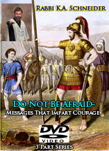 Do Not Be Afraid - Messages that impart courage. - DVD or CD Set