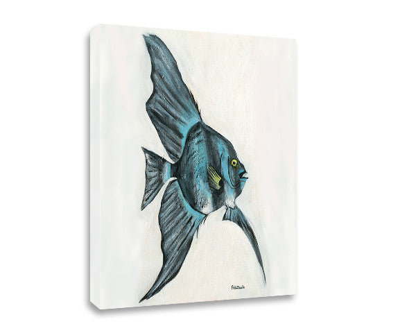 Reef Fish Canvas Art - FishZizzle