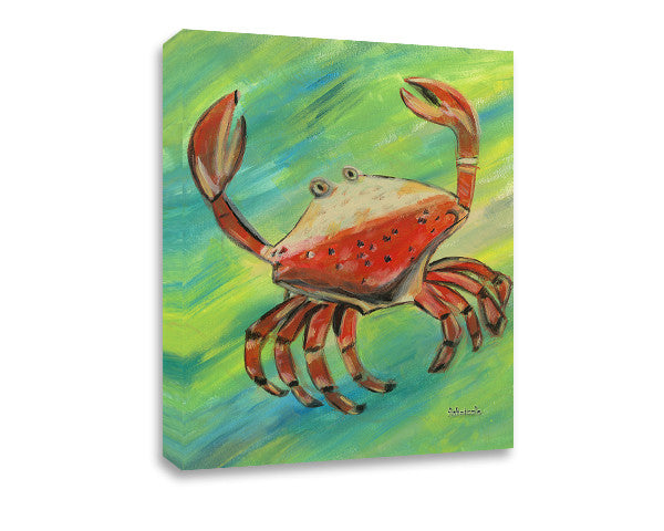 Crab Canvas Art - FishZizzle