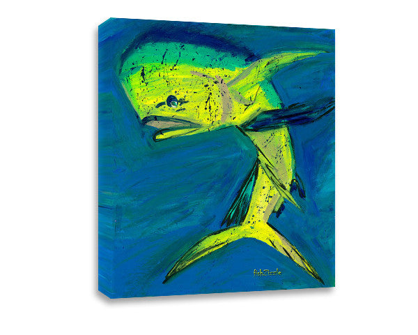 Mahi Mahi Fish Canvas Art - FishZizzle