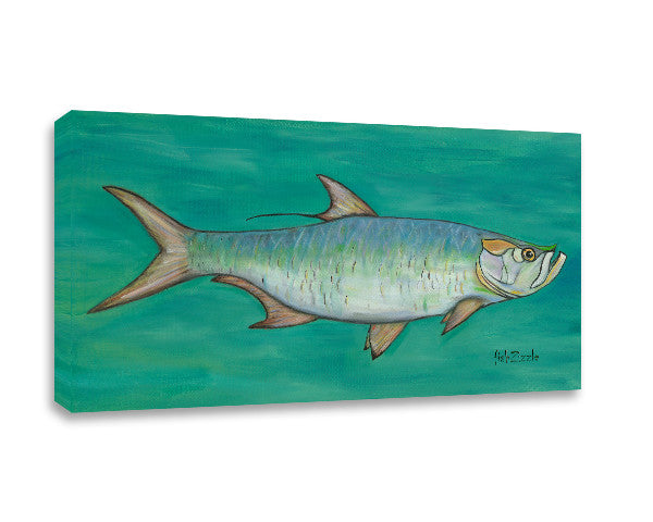 Tarpon Canvas Art - FishZizzle