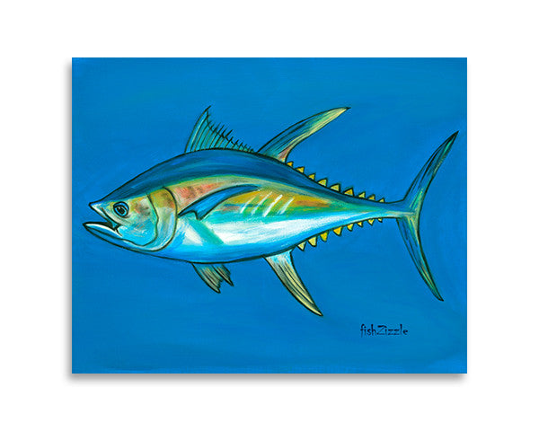 Tuna Fish Art Print - FishZizzle