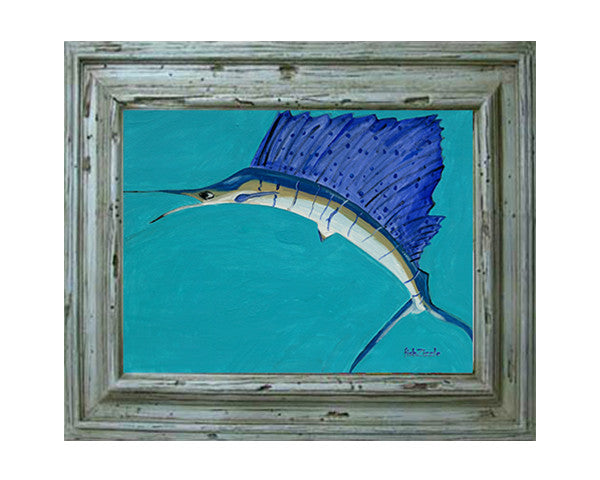 Sailfish Tile Art - FishZizzle
