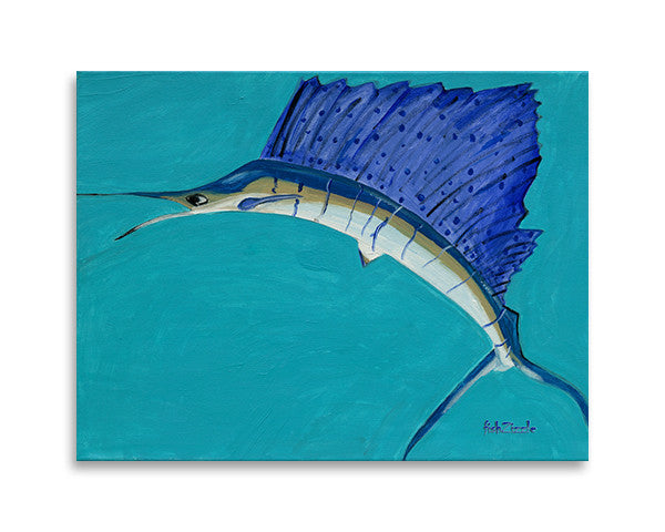 Sailfish Art Print - FishZizzle