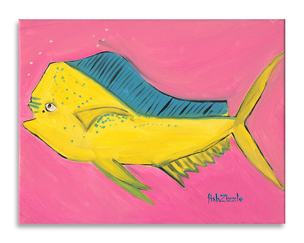 Mahi Mahi Fish Art Print - FishZizzle