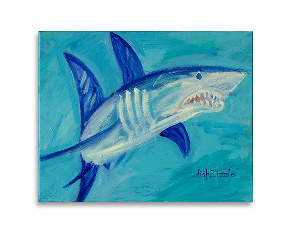 Shark Art Print - FishZizzle
