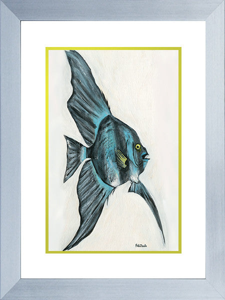 Reef Fish Art Framed - FishZizzle