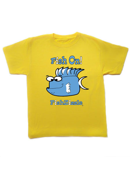 Fish On FishZizzle Youth T-Shirts - FishZizzle