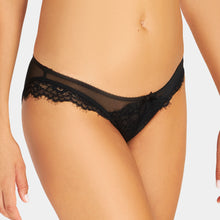 Load image into Gallery viewer, Black ONYX Lace Bikini Panty