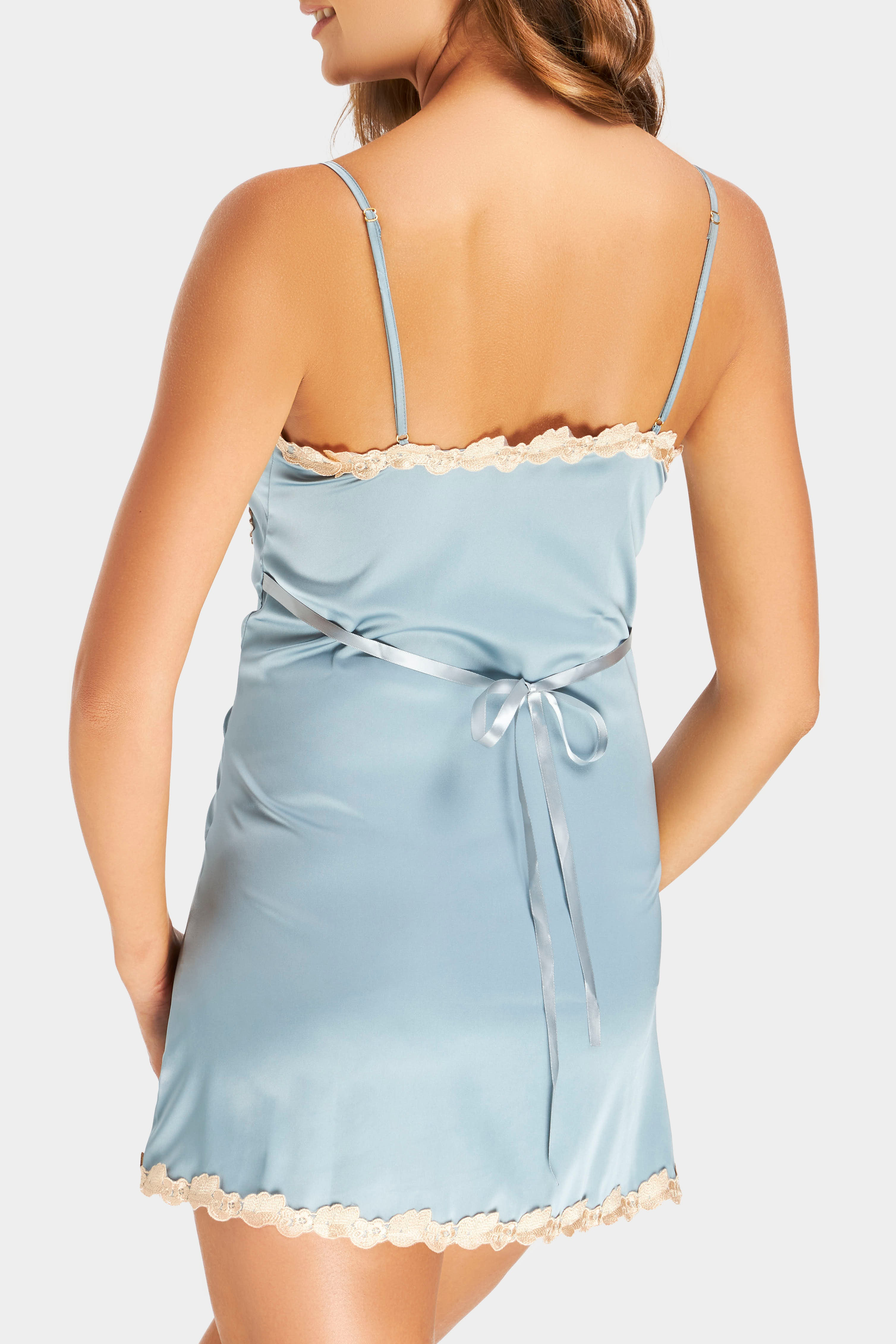 Satin Dreams Blue Bells Nightdress
