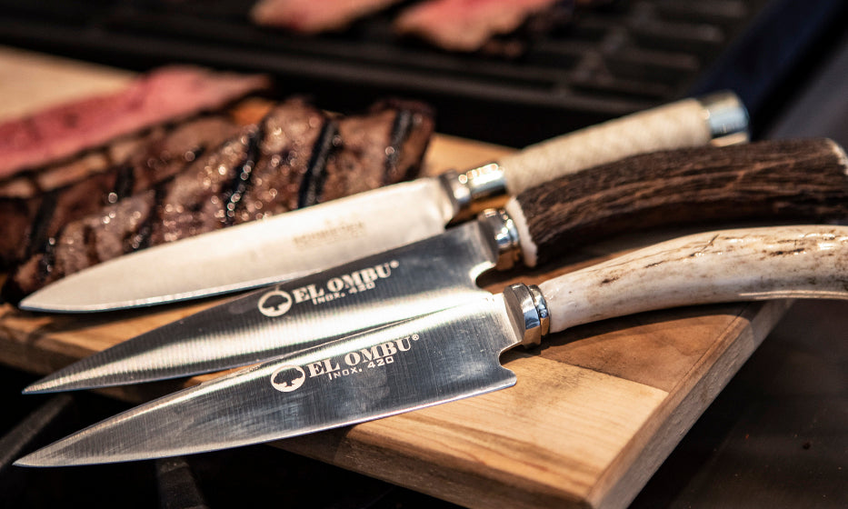 Limited Issue: Blanco Marron Knife