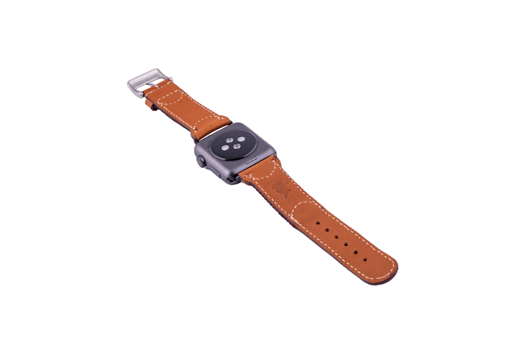 Corbina Black Apple Watch Band