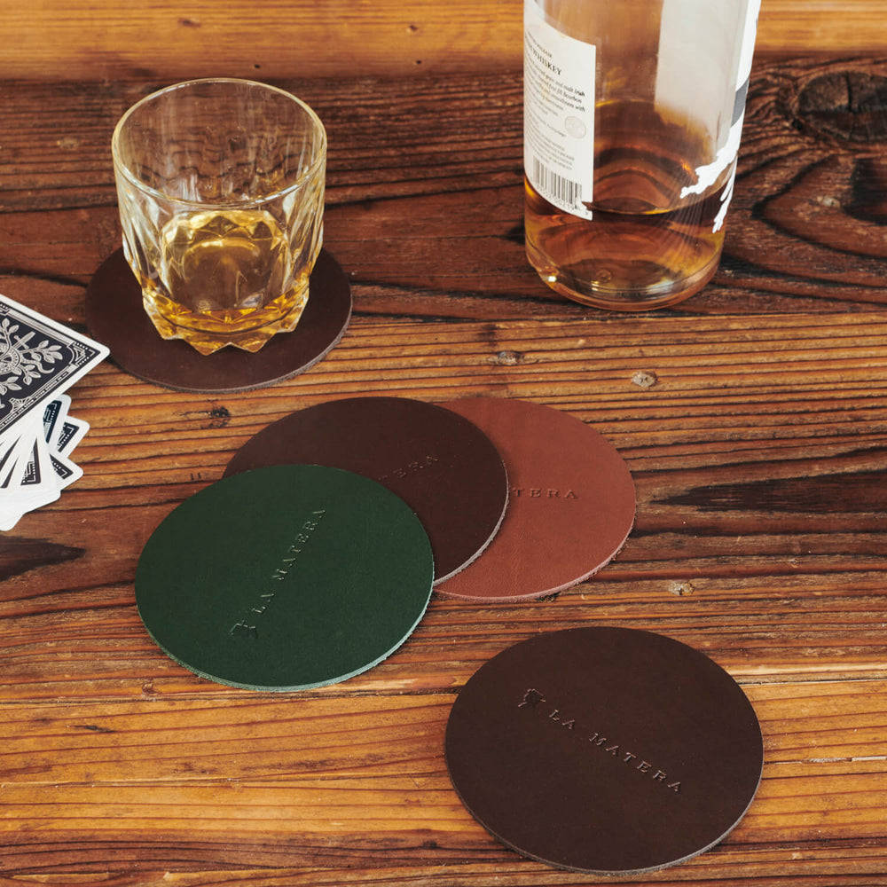 Cuero Drink Coaster (Set of 2)