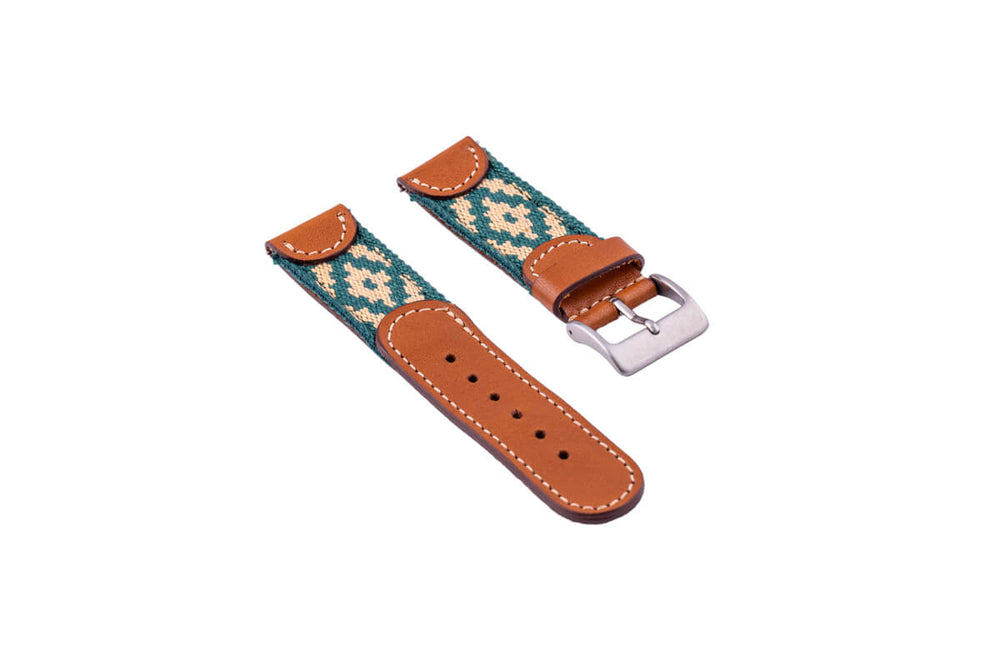 Alvear Green Quick Release Watch Band - 20mm