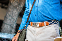 Paloma Woven Belt - Changeable Buckle