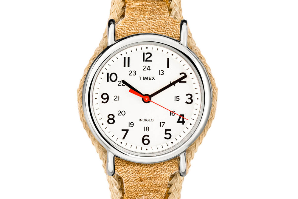 Limited Edition: Crudo Weekender Watch - White Face