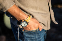 Limited Edition: Crudo Weekender Watch - Black