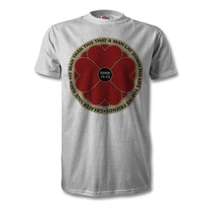 """LEST WE FORGET 365 DAYS"" Poppy T-Shirt"