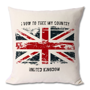 I VOW TO THEE MY COUNTRY - cushion