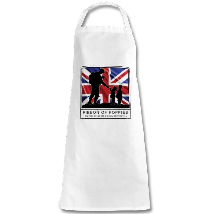 Ribbon Of Poppies UK & Commonwealth - Apron