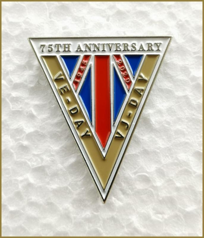 VE/VJ Day 75th Commemoration and Celebration (limted editon collectors badge)