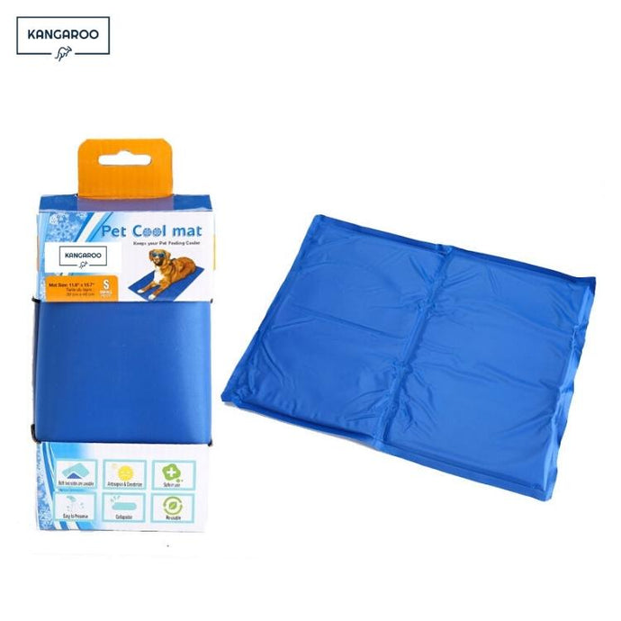 Kangaroo Dog Bed Summer Self Cooling mat Insert package