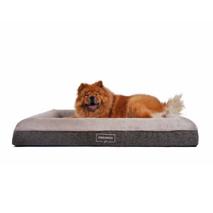 Kangaroo Dog Bed Orthopedic Memory Foam Luxury Large with Gus 1