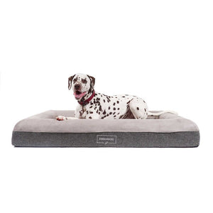 Kangaroo Dog Bed Orthopedic Memory Foam Luxury Large with Lucky