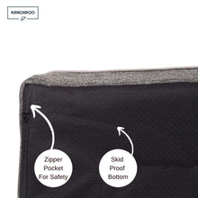 Load image into Gallery viewer, Kangaroo Dog Bed skid proof bottom with zip compartment