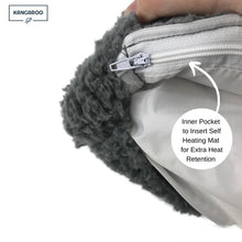 Load image into Gallery viewer, Kangaroo bed winter cover with inner pocket for self heating mat