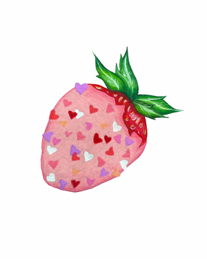 Load image into Gallery viewer, Strawberry Sticker