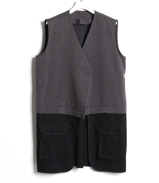 SUPER STYLISH LAYERED LONG VEST - Lefashionclothes