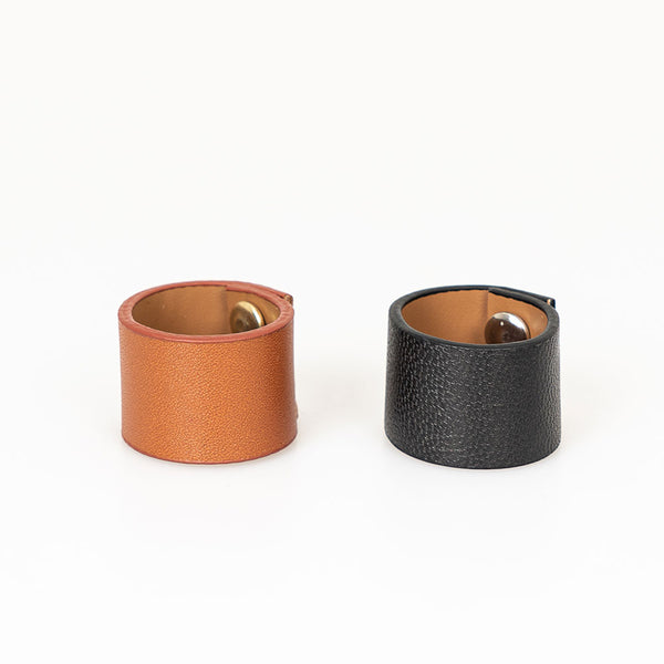 LEATHER RINGS FOR SCARVES - Lefashionclothes