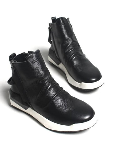 DOUBLE ZIPPER SNEAKERS FOR MEN - Lefashionclothes