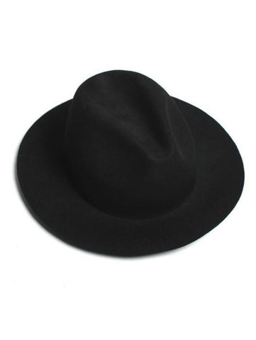 CELEBRITY VIBE BLACK ELEGANT FEDORA - Lefashionclothes