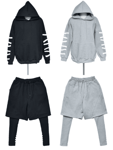 SHORTS SET MENS - Lefashionclothes