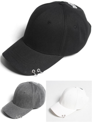 DOUBLE RING STYLISH BALL CAP - Lefashionclothes