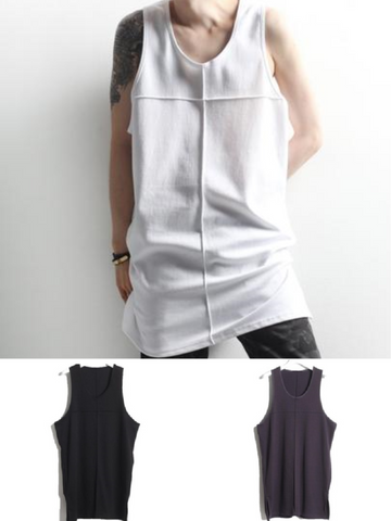 STYLISH TANK TOP WITH CROSS DESIGN - Lefashionclothes