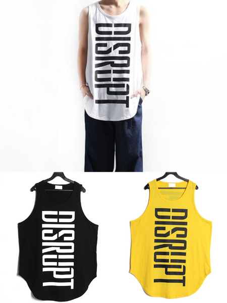MEN'S FASHION DESIGNER TANK TOP - Lefashionclothes