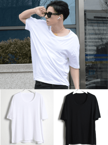 BASIC FASHION STYLISH T-SHIRT FOR MEN - Lefashionclothes