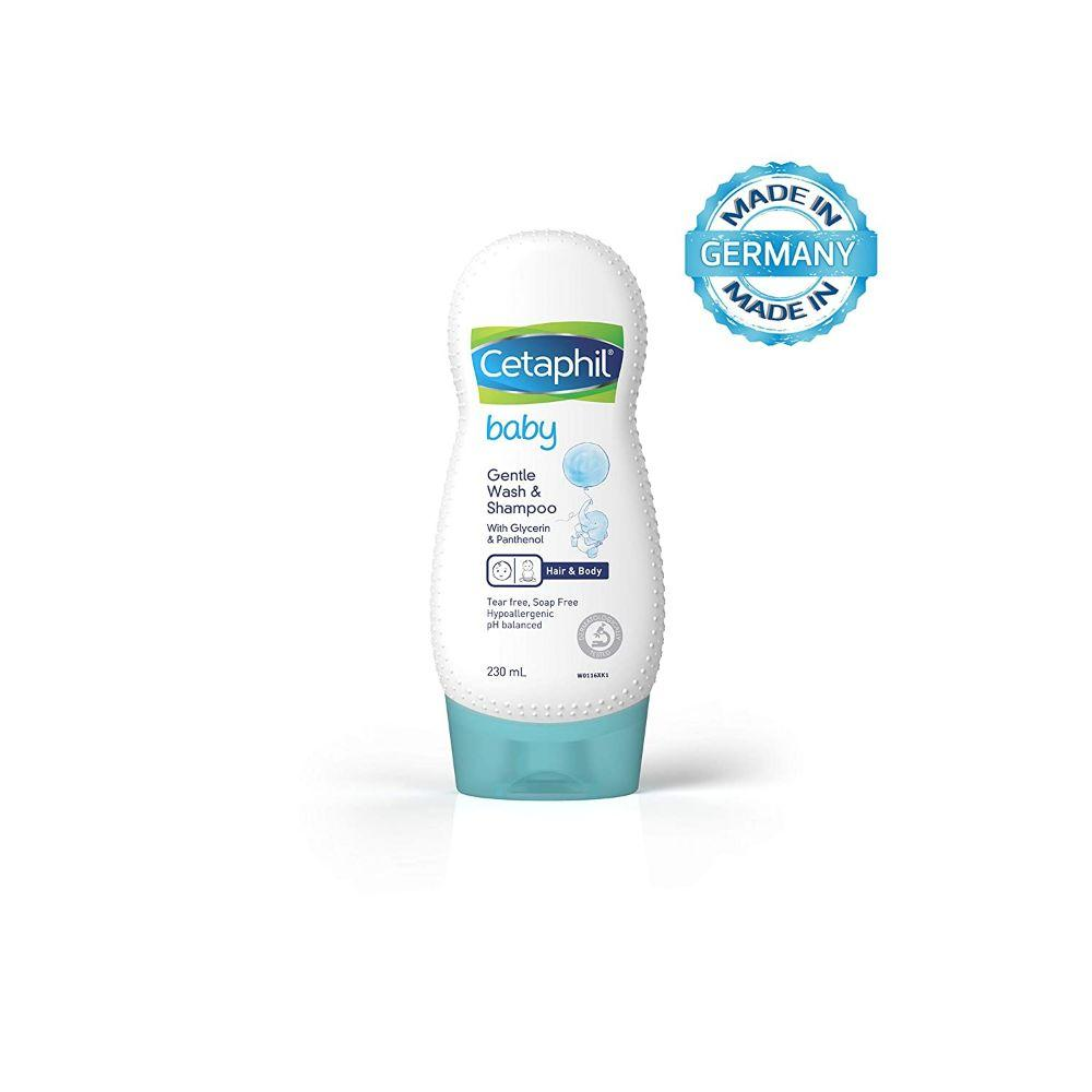 Cetaphil Baby Gentle Wash & Shampoo, 230 ml