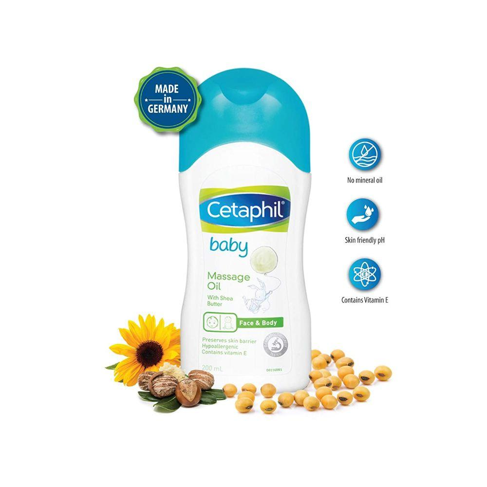 Cetaphil Baby Massage Oil, 200 ml
